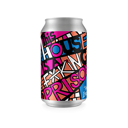 """""""Especial Chilenas"""" Cerveza Tamango This House is a Fucking Prison Imperial Kettle Sour lata 355cc"""