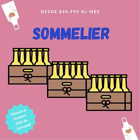 Suscripción Sommelier 3 Meses - 18 unid.