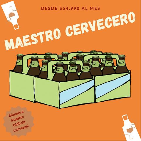 Suscripción Maestro Cervecero 3 Meses - 24 unid.