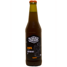 Cerveza Bundor Ninfa Irish Red Ale botella 330cc