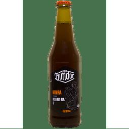 Cerveza Bundor Ninfa Irish Red Ale botella 330cc