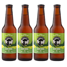 Action Ipa Days! 4-Pack Cerveza Tropera Don Manu Ipa
