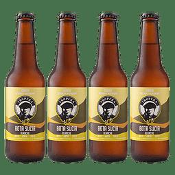 """Liquidación #03 - 4x Cerveza Tropera Blanche Bota Sucia 330cc"""