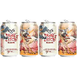 "4x! Cerveza Flying Dog ""Raging Bitch IPA"" 355cc"