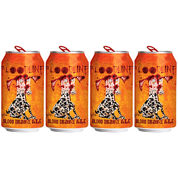 4x Cerveza Flying Dog Bloodline 355cc