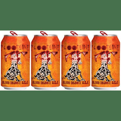 4x Cerveza Flying Dog Bloodline 355cc