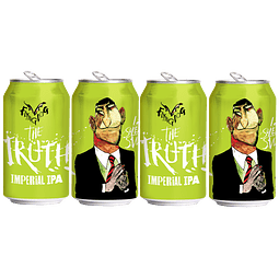 4x Cerveza Flying Dog The Truth Imperial IPA