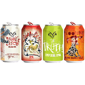 """Aguante Marzo - 4x! Cerveza Flying Dog Hoppy Pack"""