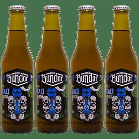 4x! Cerveza Bundor Kali American IPA 4