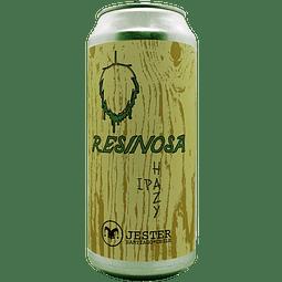 Cerveza Jester Resinosa Hazy IPA lata 473cc