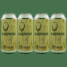 Action! 4x Cerveza Jester Resinosa Hazy IPA