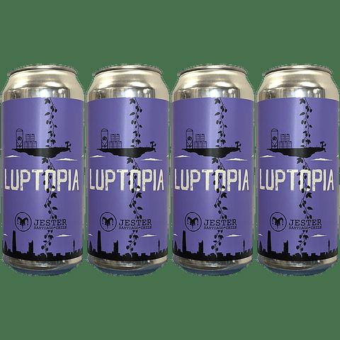 4x! Cerveza Jester Luptopia IPA