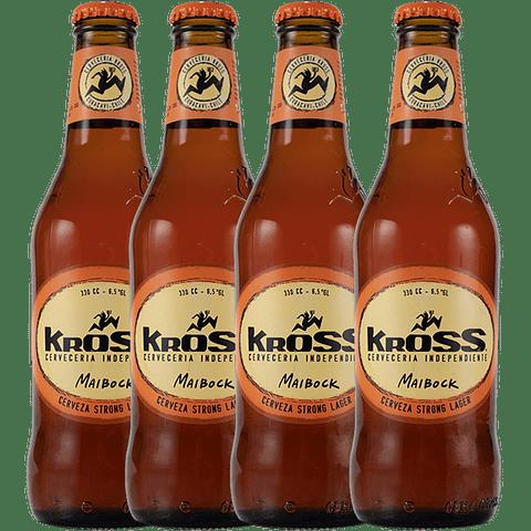 4x Cerveza Kross Maibock 330cc