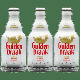 ¡Volvieron los Belgas! 3x Gulden Draak Classic botella 330cc