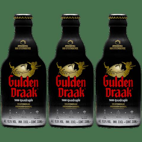 3x Gulden Draak 9000 botella 330cc