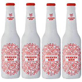 ¡Volvieron los Belgas! 4x Belga Frutal Kriekenbier Wheat botella 330cc