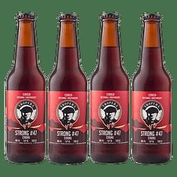 """Liquidación #05 - 4x Cerveza Tropera Strong#47 330cc"""