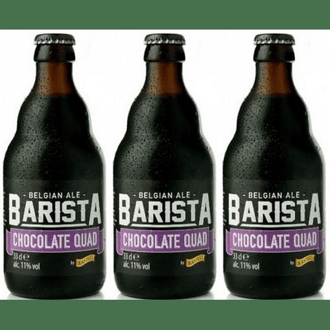 Pack Festival BeerSquare - 3x Cerveza Kasteel Barista Chocolate Quad botella 330cc