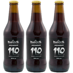 3x! Kross 110 Scotch Ale 330cc