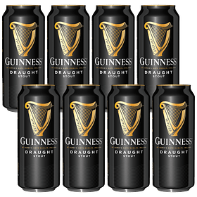 8x! Guinness Draught 440cc