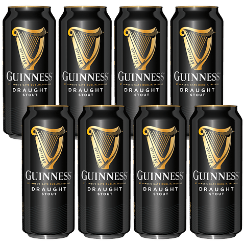 """""""Aguante Marzo - 8x! Guinness Draught 440cc"""""""