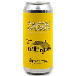 Cerveza Jester Saison lata 473cc