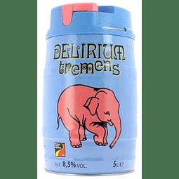 Barril Cerveza Delirium Tremens 5 lts