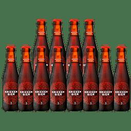 Big Pack 12x! Cerveza Belga Fruta Kriekenbier Lager 250cc