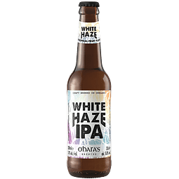 "Cerveza O'Hara's ""White Haze Ipa"" botella 330cc"
