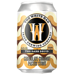 The White Hag Dark Druid Chocolate Coconut Stout lata 330cc