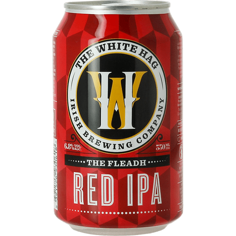 "The White Hag ""The Fleadh Red IPA"" lata 330cc"