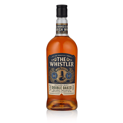 The Whistler Irish Whiskey Double Oaked botella 700cc