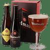 Pack Regalo Cerveza Trapense Westmalle 2 bot. + Copa
