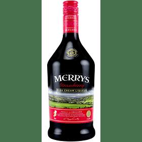 "Merrys Licor de Crema Irlandesa ""Strawberry"" 700cc"