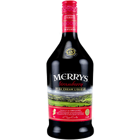 "Merrys Licor de Crema Irlandesa ""Strawberry"" 700cc"