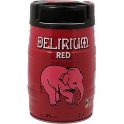 Delirium Red Barril 5 lts