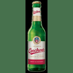 Cerveza Czechvar Original Lager botella 330cc