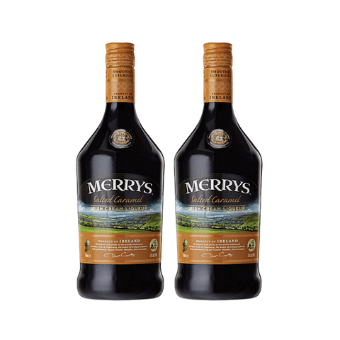 "2x Merrys Licor de Crema Irlandesa ""Salted Caramel"" 700cc"