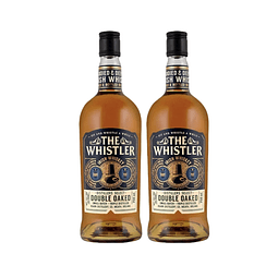 "2x Whiskey ""The Whistler Double Oaked"" 700cc"