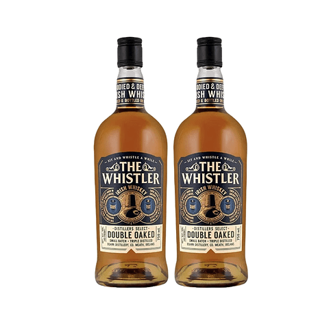 """2x Whiskey """"The Whistler Double Oaked"""" 700cc"""