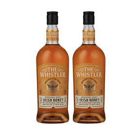 "2x Whiskey ""The Whistler Irish Honey"" 700cc"