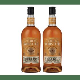 "2x Whiskey ""The Whistler Irish Honey"" 700cc"