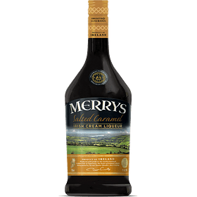"Merrys Licor de Crema Irlandesa ""Salted Caramel"" 700cc"