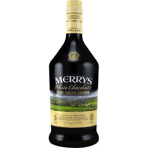 "Merrys Licor de Crema Irlandesa ""White Chocolate"" 700cc"
