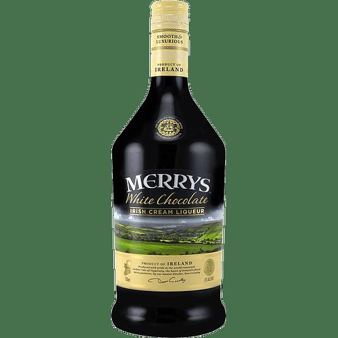 Merrys Irish Cream White Chocolate botella 700cc