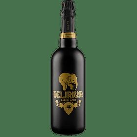 ¡Volvieron los Belgas! Delirium Black Barrel Aged botella 750cc