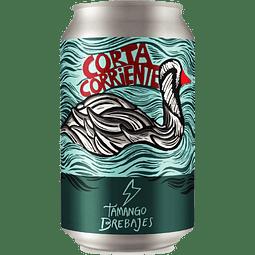 Cerveza Tamango Corta Corriente Hazy IPA lata 355cc