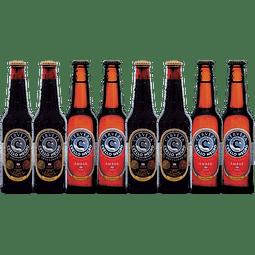 """""""Liquidación #09 - 8x! Cervezas Cuello Negro Variedades 330cc"""""""
