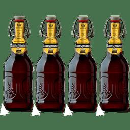"""Liquidación #25 - 4x! Cerveza Kunstmann Gran Lager 500cc"""