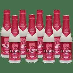 ¡Volvieron los Belgas! 8x Cerveza Delirium Red 330cc